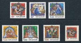 NOUVELLE-ZELANDE - 1999 -  YT 1721/1726 + N° 1727 -  NEUFS** MNH - Série Complète 7 Valeurs - Noël - Unused Stamps