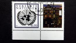 UNO-Wien 748 Oo/ET, Grußmarken: Internationale Briefmarkenmesse, Essen 2012 - Wien - Internationales Zentrum