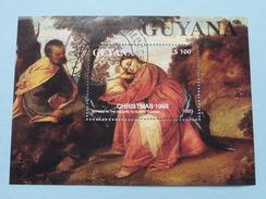Christmas 1993 & KUEHNEVOMYCES MUTABILIS 1993 ( Detail : Zie Foto's ) ! - Guyana (1966-...)