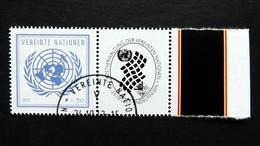 UNO-Wien 797 Oo/ET, Grußmarken: Internationale Briefmarkenmesse, Sindelfingen 2013 - Wien - Internationales Zentrum