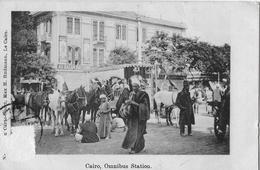CAIRO / KAIRO → Omnibus Station Ca.1930 - Le Caire