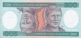 Brazil  - 200 CRUZEIROS Princesa Isabel A 4874094595 A Mint Condition ** (2 Scans) - Brasil