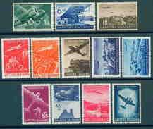 0388 Bulgaria 1940 Avion Airpost - Château Avion Asen Monastère De Bachkovo Post Automobile De Transport **MNH Bulgarie - 1909-45 Koninkrijk