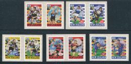 NOUVELLE-ZELANDE - 1999 -  YT 1697/1706 - NEUFS** MNH - Série Complète 10 Valeurs En 5 Paires -  Rugby - Unused Stamps