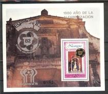 NICARAGUA  World Cup-78,82 S/Sheet Cat-50.00 Eur. MNH