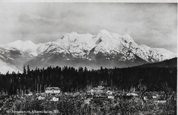 PORT ALBERNI → Mount Arrowsmith Of Vancouver Island, Postcard From 1932 - Vancouver