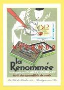 Boulogne-sur-Mer.Fête Du Timbre 2010.1 Carte Mon TimbraMoi.de Bruno Ghys.Encrier, Plume Boulogne Et La Plume - Maximum Cards