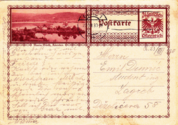 Österreich Austria Autriche Ganzsache Stationery  Maria Wörth , Karnten 1930