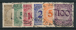 D. Reich Nr. 338-343 ~ Michel 4,20 Euro - Used Stamps