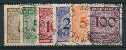 D. Reich Nr. 338-343 ~ Michel 4,20 Euro - Germany