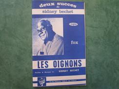 SIDNEY BECHET - Les Oignons Et Le Marchand De Poissons - Tous Instruments - 36 Pages - Jazz