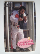 1 Chip Phonecard From Denmark - Elvis