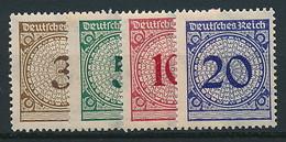 D. Reich Nr. 338-341 ** ~ Michel 13,77 Euro - Allemagne
