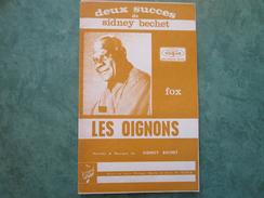 SIDNEY BECHET - Les Oignons Et Le Marchand De Poissons - Tous Instruments - 26 Pages - Jazz