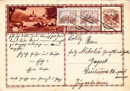 Österreich Austria Autriche Ganzsache Stationery  Mariazell, Steiermark 1932