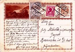 Österreich Austria Autriche Ganzsache Stationery  Ruine Aggstein 1932
