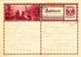 Österreich Austria Autriche Ganzsache Stationery  Seebachtal Mit Ankogel - Karnten 1930