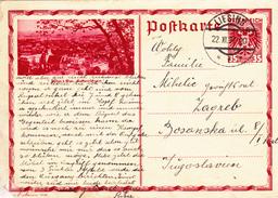 Österreich Austria Autriche Ganzsache Stationery  Baden B. Wien 1937