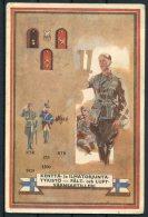 1944 Finland Kenttapostia Military Uniforms Postcard. - Finlande