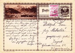 Österreich Austria Autriche Ganzsache Stationery  Admont, Steiermark, Styria 1929
