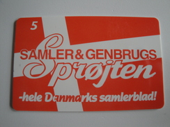1 Chip Phonecard From Denmark - Flag