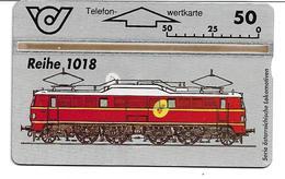 1406p: TWK Eisenbahnmotiv Aus Österreich Mit Markantem Farbfleck (Druckabart, RRR) - Oesterreich