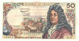 """50 Nouveaux Francs Francais """"Racine"""" état BC - 1962-1997 ''Francs''"""