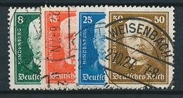 D. Reich Nr. 403-406 ~ Michel 65,00 Euro - Germany