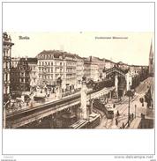 ALMNTP0203CPA-LFTMD5609TARPU.Tarjeta Postal DE ALEMANIA  BERLIN.Estacion De Tren,TRANVIA,PUENTE.CCLD - Puentes
