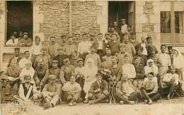 MILITARIA - 290417 - CARTE PHOTO HOPITAL MILITAIRE - Képi 142 Infirmière - Guerre 1914-18