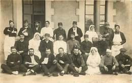 MILITARIA - 290417 - CARTE PHOTO HOPITAL MILITAIRE - Képi 15 Infirmière - Guerre 1914-18