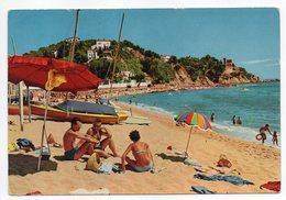 Espagne--LLORET DE MAR--La Plage (animée)  Cpsm 15 X 10 N° 372  Foto Puig - Gerona
