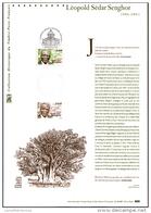 2002 - DOCUMENT OFFICIEL - LEOPOLD SEDAR SENGHOR - Documentos Del Correo