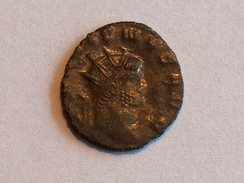 Monnaie ROMAINE 33 GALLIEN GALLIENVS AVGAPOLLINI CONS AVG Z RIC 163 Poids 2.8g Diam 1.9cm - 5. The Military Crisis (235 AD To 284 AD)