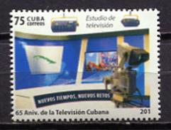 Cuba 2015 / Television 201 Mistake MNH Error 201 Fernsehen / Cu3222  2 - Telecom