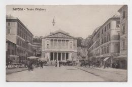 ITALIE - Liguria, SAVONA Teatro Chiabrera - Savona