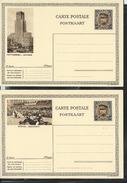 Cartes Neuve (Albert 1* Képi   50 C - Brun)  Série Complète N ° 12. (20 Cartes) - Cartes Illustrées