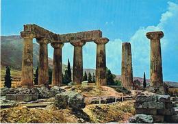 24104. Postal Antiguo CORINTO (Grecia). Templo De Apolo. Temple Apollo - Grecia
