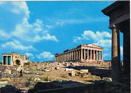 24105. Postal Antigua ATENAS (Grecia). Templo Parthenon Y Erechtheion - Grecia
