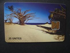 MOZAMBIQUE USED CARDS  PLANTS - Mozambique