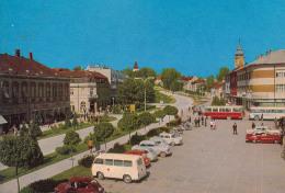 Opel Olympia Rekord,Warszawa,Skoda 1000 MB,Krankenwagen.Omnibusse,Daruvar,Jugoslawien,gelaufen - PKW