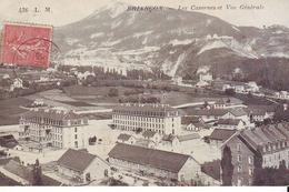 CPA - BRIANCON - Les Casernes Et Vue Générale - Briancon