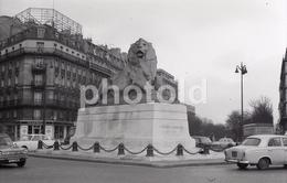 1963 PLACE DENFERT ROCHEREAU PARIS FRANCE 35mm  AMATEUR NEGATIVE NOT PHOTO NEGATIVO NO FOTO - Other