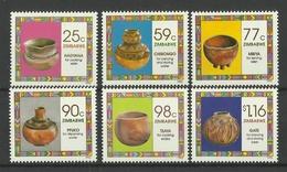 ZIMBABWE  1993  HOUSEHOLD POTTERY SET  MNH - Zimbabwe (1980-...)