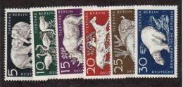 DDR SC #317-22 MNH 1956 Berlin Zoo CV $5.75 (I) - [6] Democratic Republic