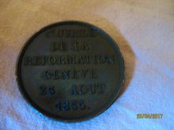 Suisse: Médaille 300e Anniversaire De La Réforme - Jetons & Médailles