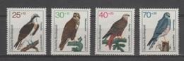 (S1561) WEST GERMANY (FEDERAL REPUBLIC), 1973 (Birds Of Prey). Complete Set. Mi ## 754-757. MNH**