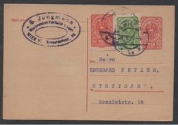 AUTRICHE - VIENNE / 1920 ENTIER POSTAL POUR L ALLEMAGNE (ref LE1152)