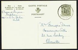 "EP N° 152 I FN  -  Circulé - Circulated - Gelaufen - Obl. : "" AUBEL - 14-12-1956 "". - Entiers Postaux"