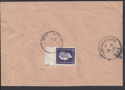"""FR - 1951 - Marianne De Dulac 50 Fr Seul Sur Enveloppe Recommandée De Lyon - Lot Réservé Au Pseudo """" Weckerle"""" - Marcophilie (Lettres)"""